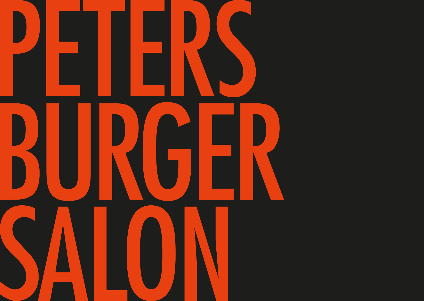PETERSBURGER SALON